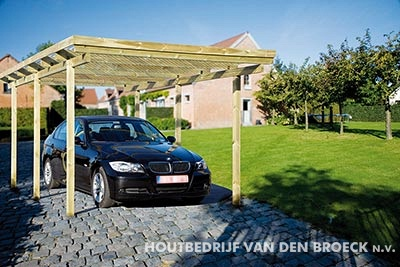 carports carports tuinhout houtbedrijf van den broeck. Black Bedroom Furniture Sets. Home Design Ideas